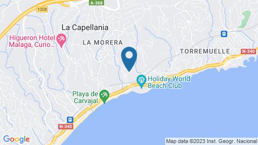 Holiday World Resort Map