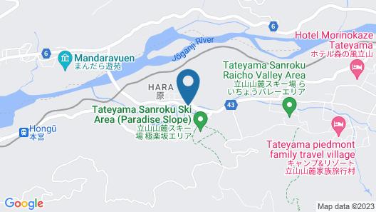 Tateyama Kokusai Hotel Map