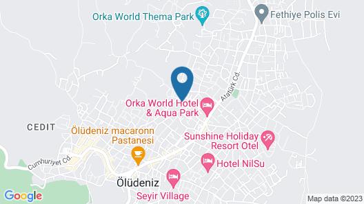 Aes Club Hotel Map
