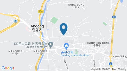 Andong Poong-gyung hostel n LIBRARY Map