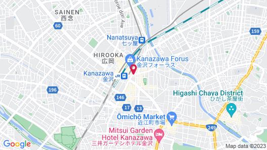 Hotel Kanazawa Map