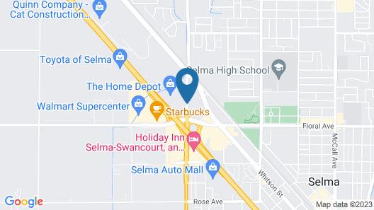 Super 8 by Wyndham Selma/Fresno Area Map