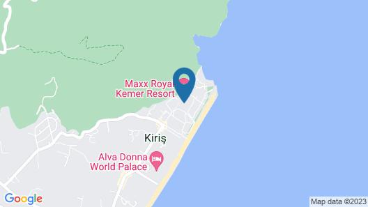 Maxx Royal Kemer Resort Map