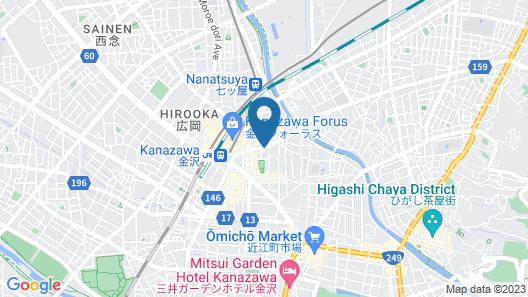 HOTEL MYSTAYS Kanazawa Castle Map