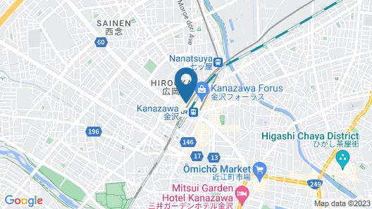 Via Inn Kanazawa Map