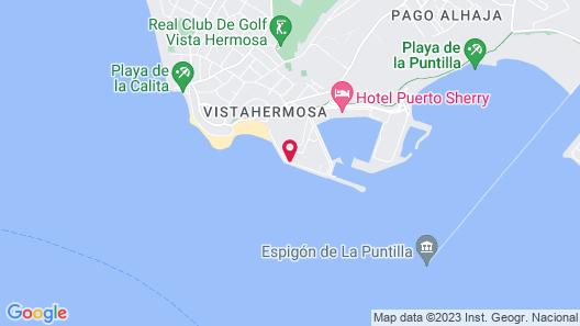 Apartamentos Puerto Sherry Map