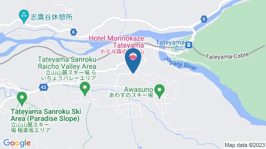 Hotel Morinokaze Tateyama Map