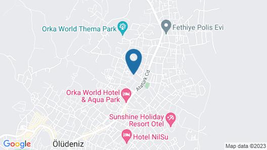 Gondol Apartments Map