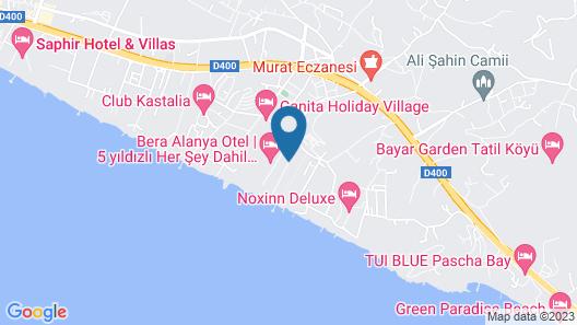 Club Dem Spa & Resort Hotel - All Inclusive Map