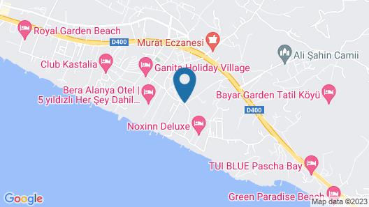 Club Konakli Hotel Map