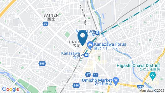 Hyatt Centric Kanazawa Map