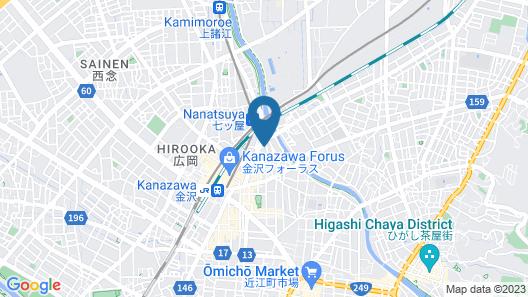 Kanazawa-Hachitabi Akane Map