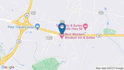 Best Western Windsor Inn & Suites Map