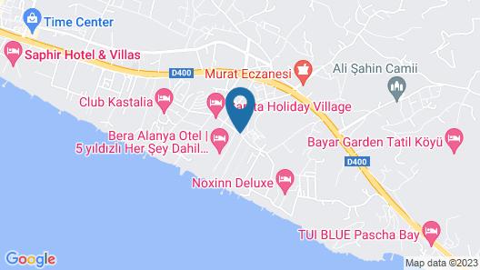 Dizalya Palm Garden - All Inclusive Map