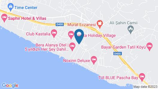 Quattro Beach Spa & Resort - All Inclusive Map
