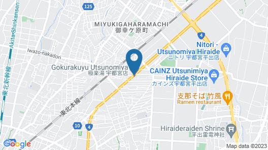 Hotel Route-Inn Utsunomiya Miyukicho-kokudou4gou- Map