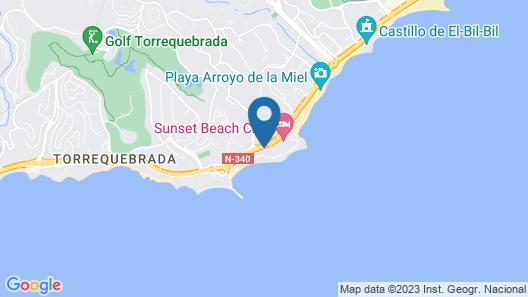 Hotel Best Benalmádena Map