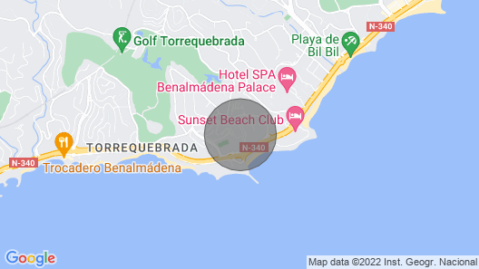 Sun, Beach and Luxury Coloso - 7 People + cot Map