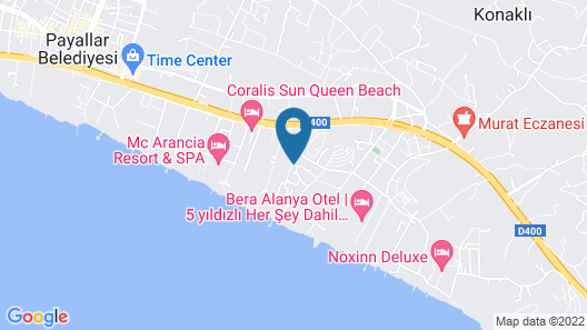 Club Kastalia Holiday Village - All Inclusive Map