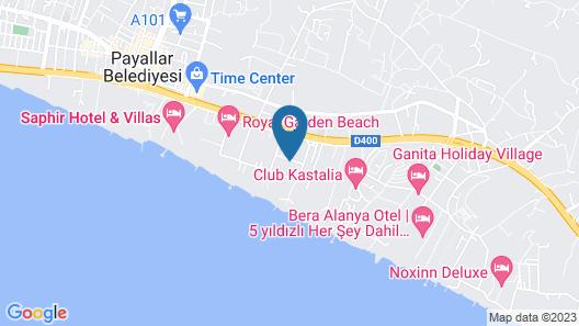 Eftalia Resort Map