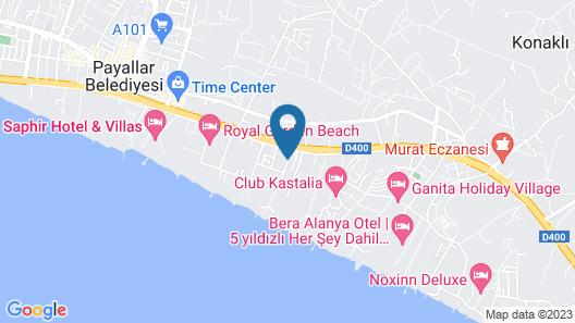 Konakli Nergis Hotel Map