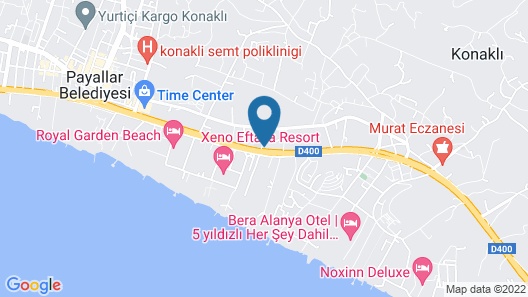 Numa Konaktepe Hotel - All Inclusive Map