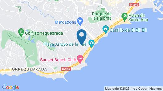 Benalmádena Playa Good Places Map