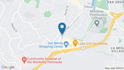 Padre Oaks Map