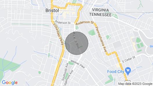 Downtown Bristol's Secret Gem Map