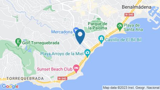 Pierre & Vacances Benalmadena Principe Map