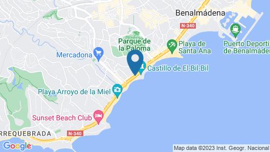 Las Arenas Map