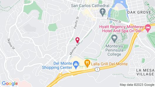 Pelican Inn Monterey Map
