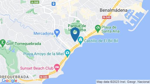 Sahara Sunset Club by Diamond Resorts Map