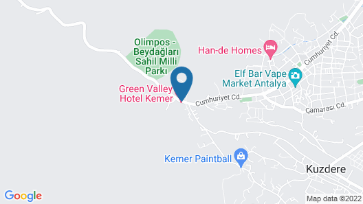 Green Valley Boutique Hotel Map