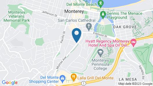 Villa Franca Inn Map