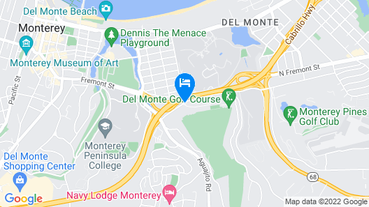 Hyatt Regency Monterey Hotel & Spa Map