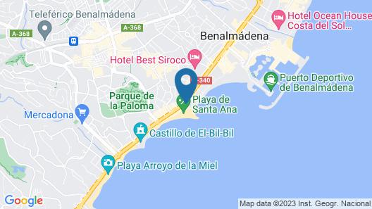 Vincci Selección Aleysa Hotel Boutique & Spa Map