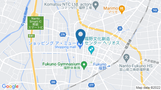 Fukuno Town Hotel A Mieux Map