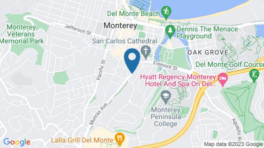 Best Western Plus Monterey Inn Map