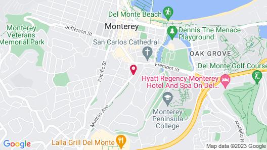 Days Inn by Wyndham Monterey Downtown Map