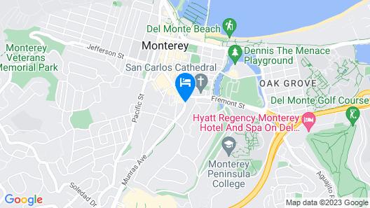 Hotel Abrego Map