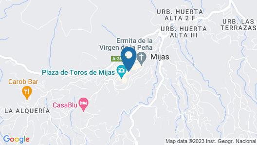 Hostel El Escudo de Mijas Map