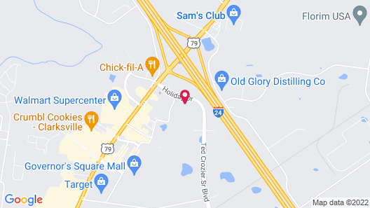 Gateway Inn and Suites Map