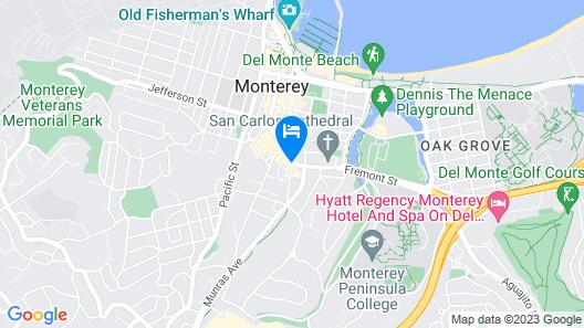 Casa Munras Garden Hotel & Spa Map