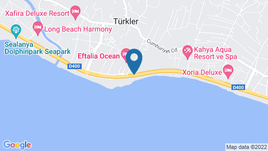 Eftalia Aqua Resort – All Inclusive Map