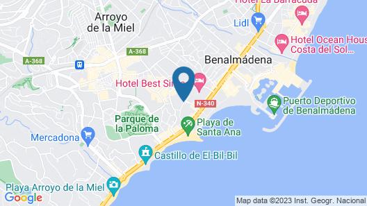 Hotel San Fermín Map