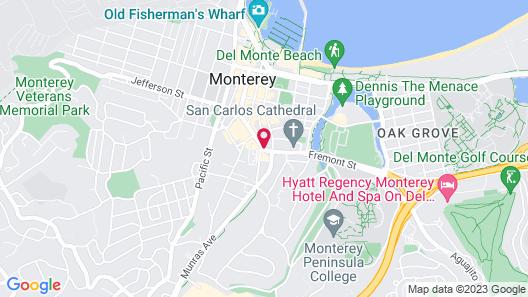 The Stevenson Monterey Map