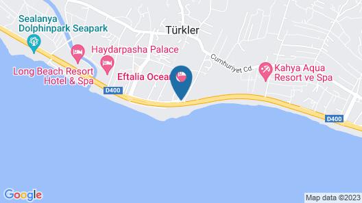 Eftalia Ocean Hotel - All Inclusive Map