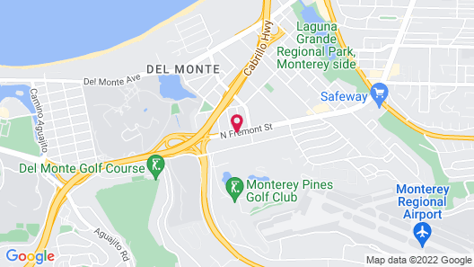 Ramada by Wyndham Monterey Map