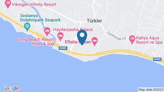 Eftalia Village Hotel - All Inclusive Map
